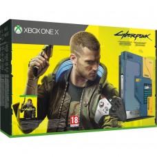 Стаціонарна ігрова приставка Microsoft Xbox One X 1TB Cyberpunk 2077 Limited Edition