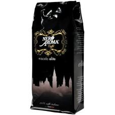 Кава в зернах Aroma Nero Elite зерно 1 кг (8053264190545)