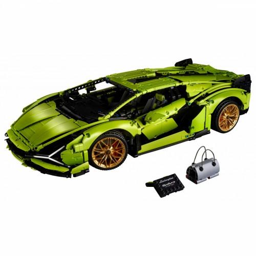 Блочний конструктор Lego Technic Lamborghini Sian Fkp 37 (42115)