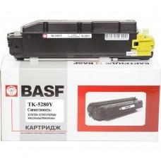 Лазерний картридж Basf Картридж для Kyocera Mita 1T02TWANL0 Yellow (KT-TK5280Y)