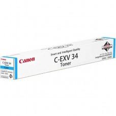 Тонер для принтера Canon C-EXV34 Cyan (3783B002AA)