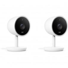 IP-камера відеоспостереження Nest Cam Indoor IQ 2 Pack (NC3200US)