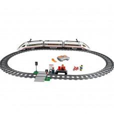 Блочний конструктор Lego City Швидкісний пасажирський поїзд 60051