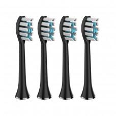 Насадки для ультразвукової зубної щітки Medica Probrush 9.0 (ULTASONIC) Black (4 штуки)