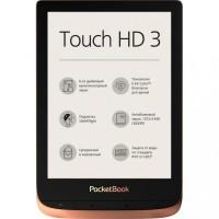 Електронна книга з підсвічуванням Pocketbook 632 Touch HD 3 Spicy Copper PB632-K-CIS