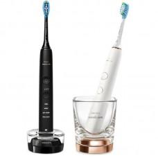 Электрическая зубная щетка Philips Sonicare DiamondClean 9000 White/Black (HX9914/57)
