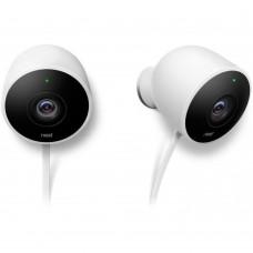 IP-камера відеоспостереження Nest Cam Outdoor 2 Pack (NC2400ES)