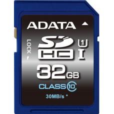 Карта пам'яті Adata 32 GB Sdhc UHS-I ASDH32GUICL10-R