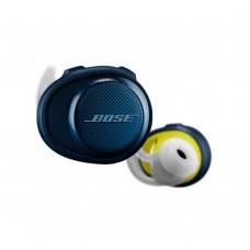 Навушники Tws (повністю бездротові) Bose SoundSport Free Wireless Midnight Blue / Citron 774373-0020