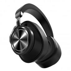 Беспроводные Bluetooth наушники Bluedio T7 Plus с поддержкой micro SD карты (Черный)