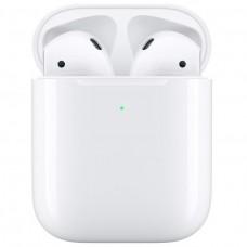 Навушники Tws (повністю бездротові) Apple AirPods with Wireless Charging Case (MRXJ2)