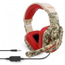 Навушники з мікрофоном iPega PG-R005 Camo