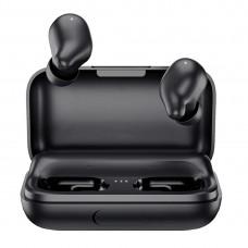 Бездротові Bluetooth навушники Haylou T15 з чохлом-акумулятором (Чорний)