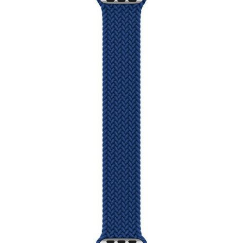Apple Atlantic Blue Braided Solo Loop Watch-Size 11 для Watch 42 / 44mm (MY8J2)