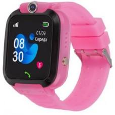 Дитячий розумний годинник AmiGo GO007 Flexi Gps Pink