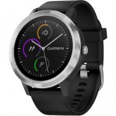 Смарт-годинник Garmin Vivoactive 3 Black with Stainless Hardware (010-01769-02)