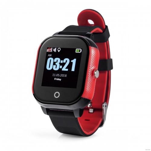 Смарт-годинник Lemfo DF50 Ellipse Aqua Black-Red