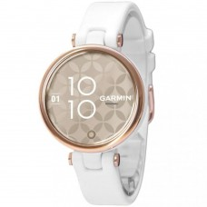Смарт-годинник Garmin Lily Cream Gold Bezel with White Case and Silicone Band (010-02384-10)