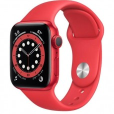 Смарт-Apple Watch Series 6 Gps 40mm (PRODUCT)RED Aluminum Case w. (PRODUCT)RED Sport B. (M00A3)