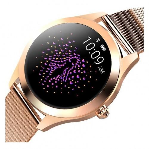Смарт-годинник King Wear KW10 Metal Pink Gold
