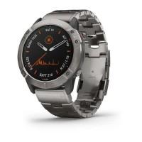 Спортивний годинник Garmin Fenix 6X Pro Solar Edition Titanium with Vented Titanium Bracelet 010-02157-24/23