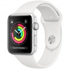 Смарт-годинник Apple Watch Series 3 Gps 38mm Silver Aluminum w. White Sport band (MTEY2)