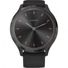 Смарт-годинник Garmin Vivomove 3 Slate Stainless Steel Bezel w. Black and Silicone B. (010-02239-01)