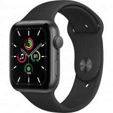 Смарт-Apple Watch SE Gps 44mm Space Gray Aluminum Case w. Black Sport B. (MYDT2)