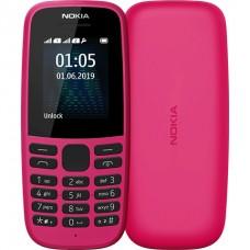 Мобільний телефон Nokia 105 DS 2019 Pink (16kigp01a01)
