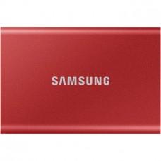 Ssd накопичувач Samsung T7 2 TB Red (MU-PC2T0R/WW)