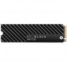 Ssd накопичувач WD Black SN750 Nvme Ssd 1 TB With Heatsink (WDS100T3XHC)